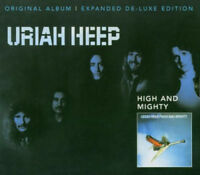 """Uriah Heep : High and Mighty: Expanded Version VINYL Deluxe  12"""" Album (2015)"""