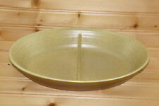 """Franciscan Reflections Oval Divided Vegetable Serving Bowl, 11 1/4"""" x 7 1/2"""""""