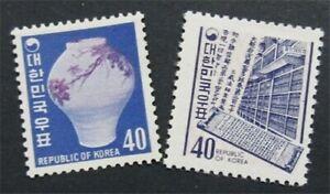 nystamps Korea Stamp # 650.651 Mint OG NH    S24x680
