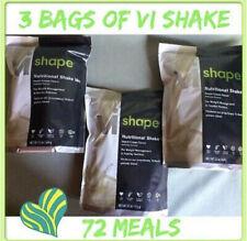 3x Body By Vi Shape ViSalus Shake Mix, 22 oz bags 72 Meals Exp 5/23