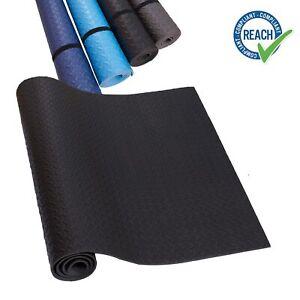 Eva Unterlegmatte Laufband dunkelblau blau grau schwarz Yogamatte rutschfest