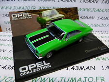voiture 1/43 IXO eagle moss OPEL collection n°55 : CHEVROLET OPALA Brésil 68/69