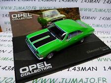voiture 1/43 IXO eagle moss OPEL collection n°55 : CHEVROLET OPALA Brésil 68/69