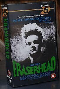 David Lynch ERASERHEAD Channel 5 VHS RARE