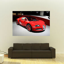 Poster of Bugatti Veyron HD Huge Print 54x36 Inches