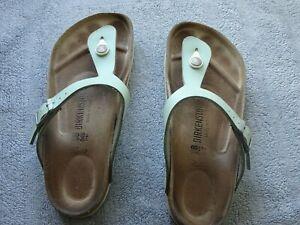 Birkenstock toe post sandals 5 38 standard fitting