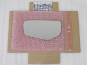 LD554 Mirror Glass for 2014-17 CADILLAC CTS ATS COUPE Driver Side View Left LH