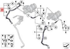 Genuine BMW F04 Sedan Heater Return Hose OEM 11537595603