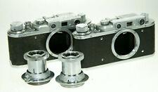 Zorki set con 2 chasis y 3,5/50mm -- defectuoso --