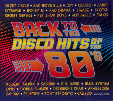 BACK TO THE DISCO HITS OF THE 80'S 2CD DIGIPAK [The Best Songs Compilation]