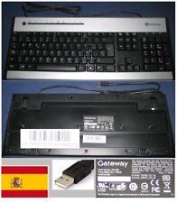 CLAVIER QWERTY ESPAGNOL GATEWAY KU-0355 KU0355 KB.USB0G.011, KBUSB0G011 port USB