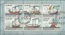 Timbres Bateaux Mozambique 2554/9 o année 2009 lot 1193 - cote : 19,80 euros