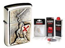☆ Zippo ® Feuerzeug Crusade Victory & Zubehör XL ☆