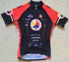 Castelli Chelsea Piers N York Full Throttle Endurance Triathlon Jersey Womens XL