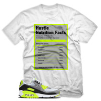 Hustle Facts T shirt For Nike Air Max 90 OG Volt, White Mens & Womens T-shirt