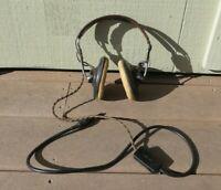 WW2 US Army Military Airforce ANB-H-1 Radio Pilot Headphones w/ Recievers