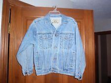 Arizona Denim Jacket Youth Size Medium Jean Jacket Button Front