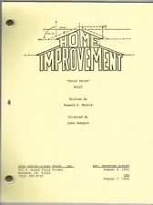 "HOME IMPROVEMENT show script ""Groin Pains"""