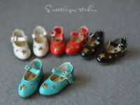 "【Tii】1/6 12"" Blythe Pullip doll shoes stars azone cherryB mmk outfit clothes"