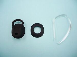 Jabra Style Accessory Pack in BLACK - 1 earhook and 2 EarGel in different shapes
