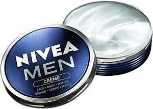 Nivea Mens Cream Creme Face Body & Hands Non Grease Hydrating 75ml #BargainTrend