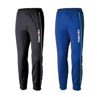 Pantaloni MACRON Allenamento BLU nav Slim Fit SYN semi-aderenti polsino Caviglia