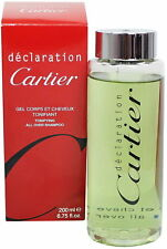 Cartier Declaration Pour Homme Tonifying All Over Shampoo 200ml Sealed New