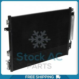 New A/C Condenser for Chrysler 300 / Dodge Challenger, Charger - 2009 to 2019