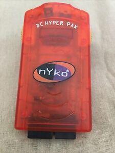 nyko DC Hyper Pak Sega Dreamcast Memory Tremor/Rumble Pack Card