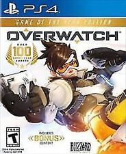 NEW! OVERWATCH GAME OF THE YEAR EDITION (PlayStation 4, PS4 2017) *PLEASE READ*