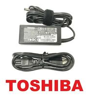 Genuine New Toshiba 45W 19V AC Power Charger For Satellite C75D-B7220 C75D-B7230