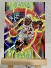 🔥Michael Jordan 1995-96 Stadium Club Beam Team #BT14 RARE 1:1440 Packs Die Cut