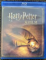 Harry Potter: 8-Film Collection (Blu-Ray, 8-Disc Set) *Free Shipping* NO DIGITAL