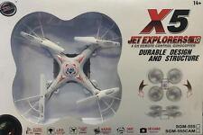 SGM ® X5 JET EXPLORERS (2.4G) CAMERA 4 channel remote control Quadcopter …