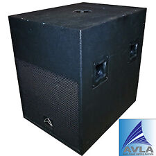 Wharfedale Pro Twin 18X Powered Subwoofer Demo Use