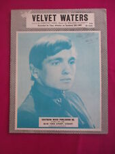 Tony Worsley, original sheet music - Velvet Waters