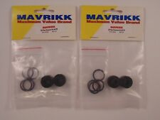 Mavrikk 3D Flap Dampner Set For Thunder Tiger Raptor 60-90 Helicopters Qty.2 Nip