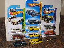 Hot Wheels Lot of 10 1970 Chevelle SS Wagon Variation Garage '70 Mooneyes Hurst