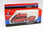 Solido Pompiers 1/50 - Peugeot Expert + Moto Pompe