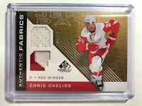 2007-08 SP Game Used Edition Authentic Fabrics Jersey Patch Chris Chelios /50