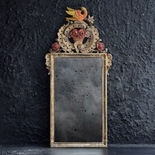 Hand carved wooden early 20th Century mirror