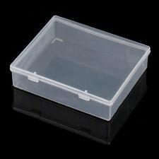 Boîte de pièces en plastique boîte de rangement transparent conteneur à visoutil