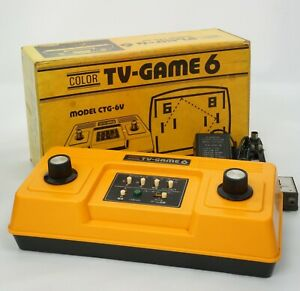 COLOR TV GAME 6 Console System Boxed CTG-6V Nintendo Tested JAPAN 4045940