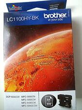 Brother LC1100HY-BK Tintenpatrone schwarz MFC-6490CW DCP-6690CW , Original