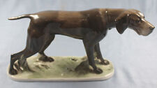 pointer figurine Rosenthal figur porcelain porcelainfigurine diller dog 1920