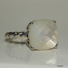 Mother of Pearl Genuine PANDORA White Elegant Sincerity Ring 7.5/56 190828mp