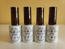 Zurno 4Dip  Nail Dipping Powder Liquid Dip System 4 Steps  No Lamp Needed