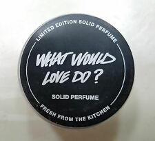 Lush UK Kitchen New **WHAT WOULD LOVE DO** Solid Perfume 12g