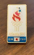TBS Japan Atlanta 1996 Olympic Media Pin