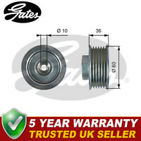 Gates Drive Belt Deflection Guide Pulley Fits Grand Vitara 2.0 HDI - T36753